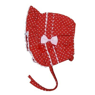 1pc Infant Newborn Girl Baby Polka Dot Bucket Sun Hat Cap Beanie Headband R G6I2