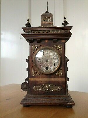 Lenzkirch 19th Century Black Forest Clock Restoration Project