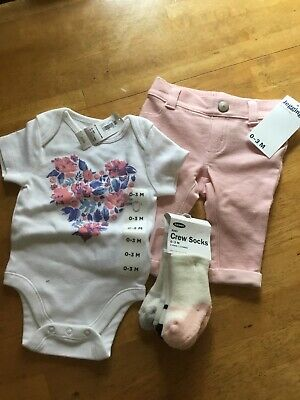 baby girl clothes, 0-3 mths, old navy, nwt