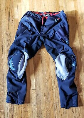 "Leatt  Pants GPX 5.5 I.K.S - Black - Motocross , ATV Size Med 32"" waist"