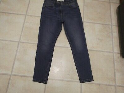Next Blue Skinny Jeans, Size 14 Petite, Very Good Condition