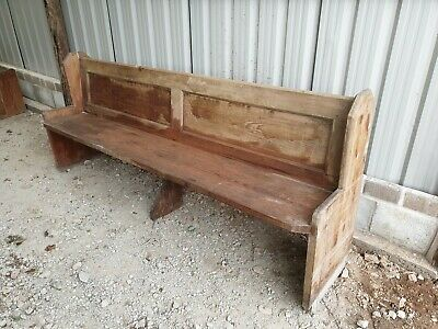 Church Pew Bench Seat Antique