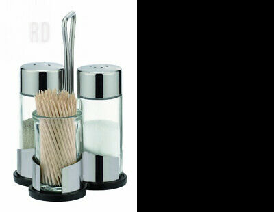 Tescoma Club Salt-Pepper and Toothpicks Set