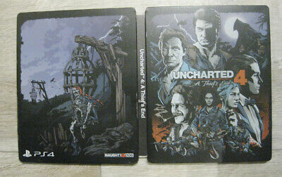 Uncharted 4 A Thief's End + The Elder Scrolls Online Tamriel Unlimited PS4