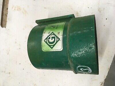 """Greenlee #00784 - 4"""" Screw on Coupling for use with ultra tugger"""