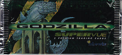 GODZILLA - Supervue Premium Trading Card Packs (20) by Inkworks #NEW