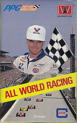 1991 ALL WORLD RACING - Trading Cards Sealed Box (AW Sports) #NEW