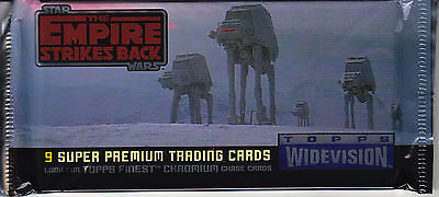 STAR WARS - Empire Strikes Back Widevision Sealed Card Packs (24) by Topps #NEW