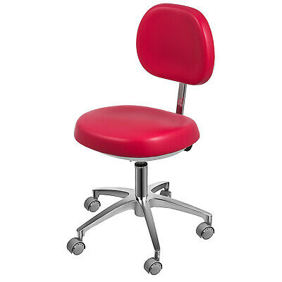 Dental Dentist's Chair Doctor's Stool Mobile Chair Microfiber Leather