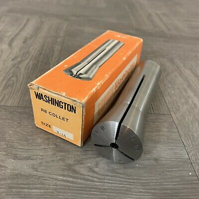NEW NOS Washington Wholesale R8 Size 3/16 Collet collets Toolmaker Milling tools