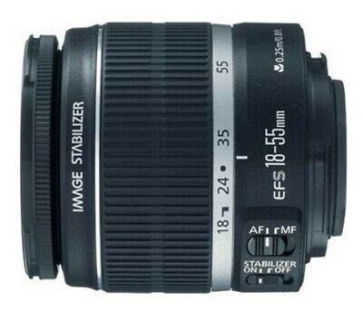 Canon Zoom Lens EF-S 18-55mm 1:3.5-5.6 IS