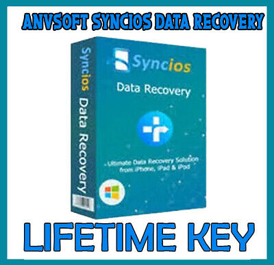Anvsoft SynciOS Data Recovery 2 retrieve lost - deleted data from iOS device key