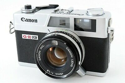 """APP Near Mint(AS IS)"" Canon Canonet G-III QL19 45mm F/1.9 Lens  From Japan 3037"