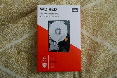 "Western Digital WD Red 3.5"" 4TB 6 Gb/s SATA3 NAS Drive Retail Brand New Warranty"