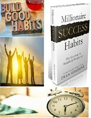 NEW Ebook Millionaire Success Habits ebook Way to your success Free Shipping MRR