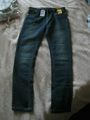 BNWT NEXT boys/girls super skinny jeans in jersey denim  AGE 15 RRP £20
