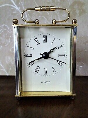 A small quartz carriage clock. Made in England by Unistar.