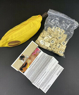 Bananagrams Original Word Tile Game In Banana Pouch - NEW without Tags
