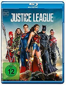 Justice League [Blu-ray] by Snyder, Zack | DVD | condition very good