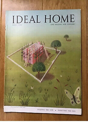 Vintage Ideal Home Magazine. July 1949. Rare Collectors Item