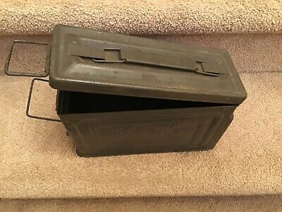 Vintage WWII Reeves 30 CAL Ammo boxl