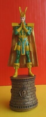 DC SCHACH CHESS MARVEL COLLECTION  EAGLEMOSS * LOKI * OVP in BOX