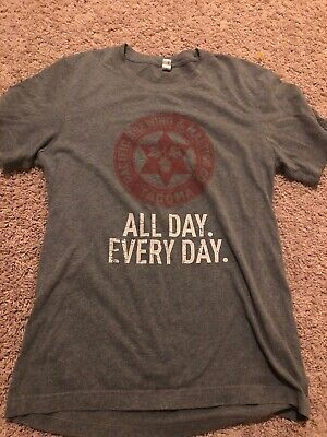 Pacific Brewing & Malting Co Tacoma Washington All Day Every T Shirt Adult Small
