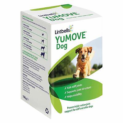 Lintbells YOUMOVE Supplement for Dog Mobility Health Aid For Stiff Old Dogs 120