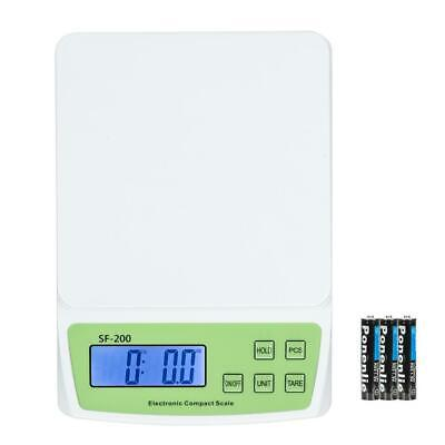 Digital Weigh Packaging Shipping Postal Scale 10kg/0.5g 22lb 352oz LCD Display