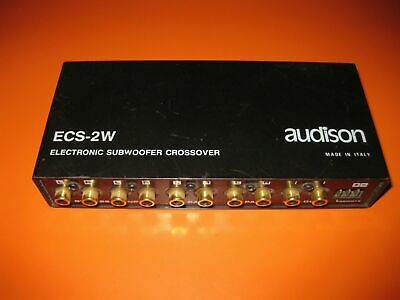 Crossover Attivo Elettronico Audison Ecs-2W High Quality (Made In Italy)