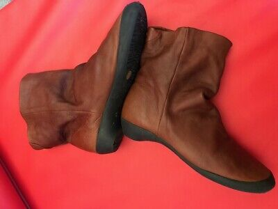 Softinos Women's Ankle Boots Brown UK 5 (fits UK 4.5)