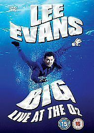 Lee Evans: Big - Live at the O2 DVD (2008) Lee Evans ***NEW***