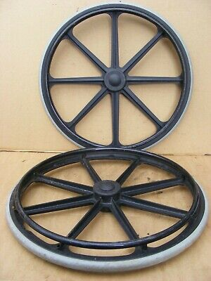 Wheelchair Self Propelled Wheel Chair Wheels Solid Tyres Mag Wheels #136