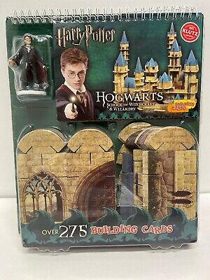 Harry Potter Hogwarts School of Witchcraft & Wizardry 275 Building Cards *New*