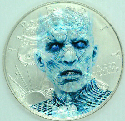 Game of Thrones Night King - American Silver Eagle 1oz. .999 Silver Coin