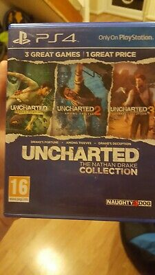 Uncharted: The Nathan Drake Collection for Sony Playstation 4 [711719866039]