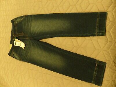 On Trend Boys BENNETTON Dk Blue Soft Jersey Jeans BNWT 6/7yrs REDUCED