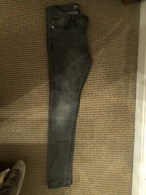 *** NEXT Boys Grey Super Skinny Jeans - Age 14 Years - Excellent condition ***