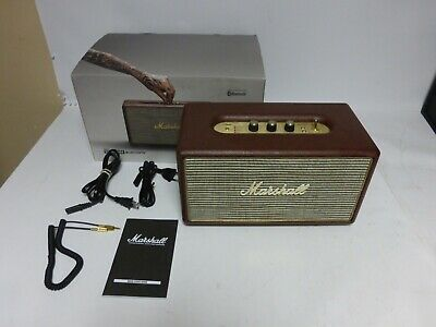 Marshall Stanmore Bluetooth Speaker, (Brown)