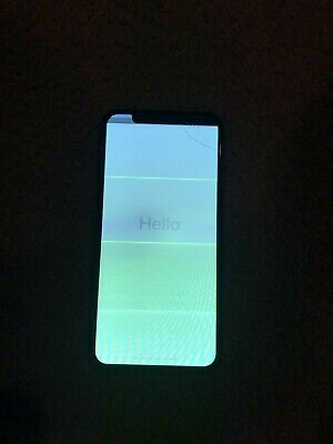 Apple iPhone x 64gb unlocked cracked screen. All functions work. Parts Only