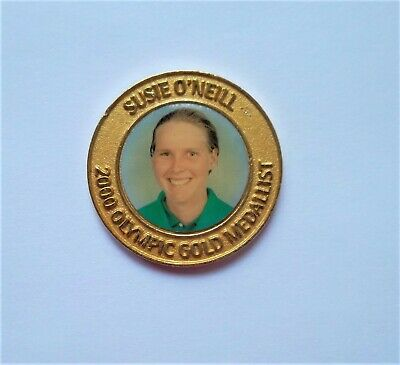 Sydney 2000 Olympic Medal - Suzie O'neill - Olympic Team Swimming