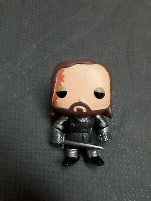 Funko Pop Game of Thrones The Hound Vaulted Htf Loose