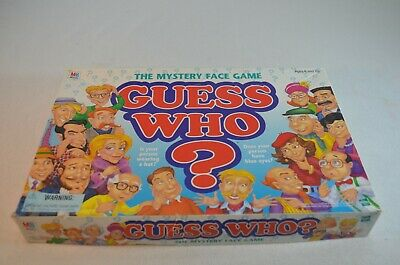 Guess Who? Board Game Hasbro The Mystery Face Game