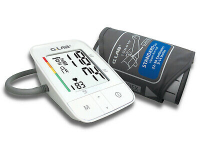 Portable Digital Automatic Memory Arm Blood Pressure Monitor incl. AC/DC charger