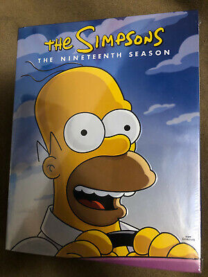 Simpsons Season 19 (DVD, 4-Disc Set, 2019) NEW