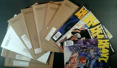 1984 Heavy Metal Magazine Lot of 13 some sleeves w special VF to NM 1977 Series