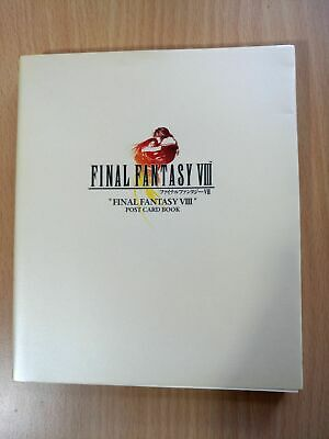BOOK Final Fantasy VIII (8) - Post Card Book SQUARESOFT PLAYSTATIONGAME POSTCARD