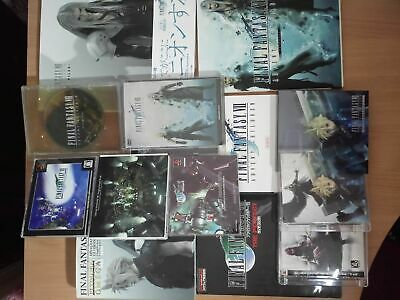 SET/LOT BOOK+DISC 11x: Final Fantasy VII (7): Advent Children SONY PLAYSTATION