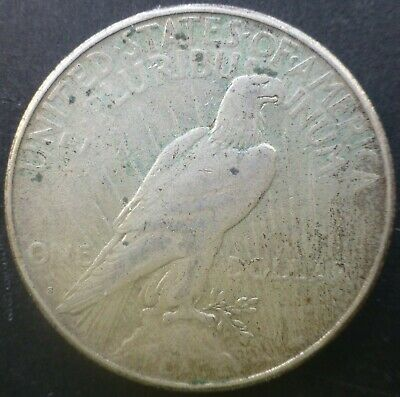1922 Silver Peace 1 Dollar United States of America