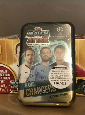 Topps Match Attax Mega Tin 2019/20 GAME  CHANGERS BRAND NEW & SEALED